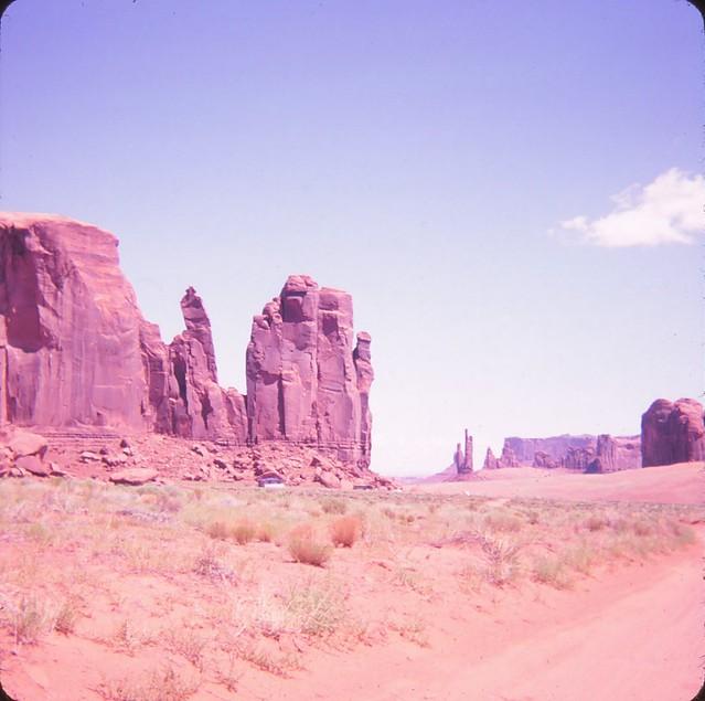 Monument Valley - Rain God Mesa