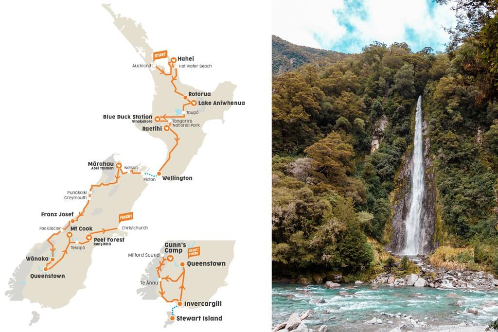 Reppureissu Uudessa-Seelannissa Stray