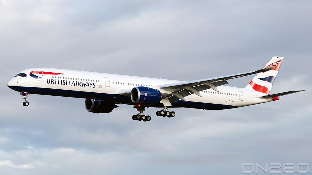 British Airways A350-1041 msn 374