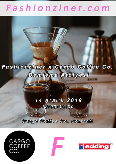 Fashionziner x Cargo Coffee Co.