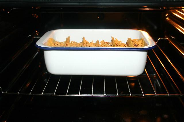50 - Im Ofen überbacken / Gratinée in oven