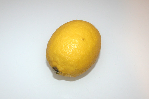 06 - Zutat Zitrone / Ingredient lemon