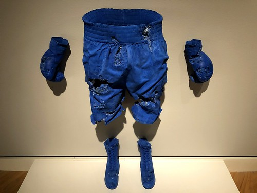 Blue Calcite Boxing Set by Daniel Arsham | by gmeador