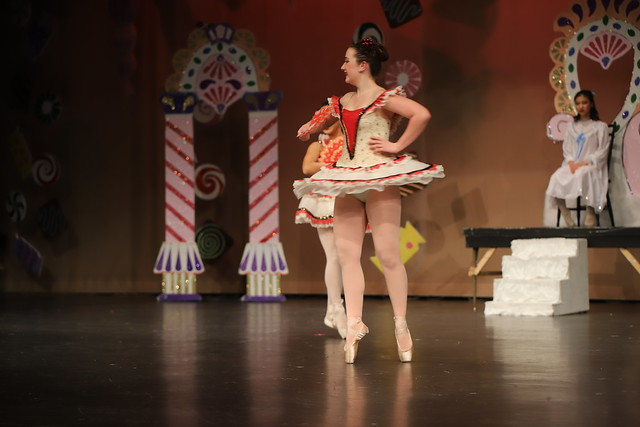 Dress Rehearsal for Ann Arbor Dance Classics 2019 Holiday Show, Nutcracker Suite & Spirit of the Season (Milan High School, Michigan) - Friday, December 13, 2019