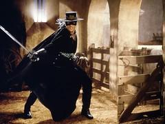 "Antonio Banderas in ""The Mask of Zorro"""