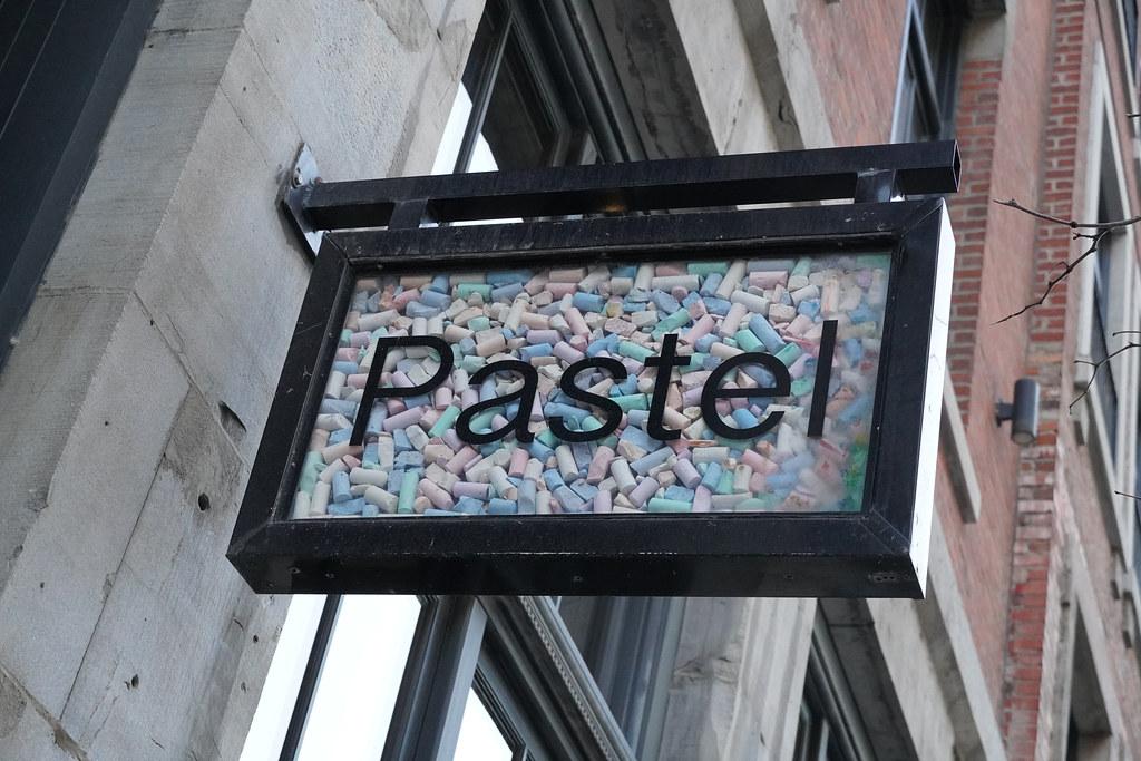 Pastel, Montreal, Quebec, Canada