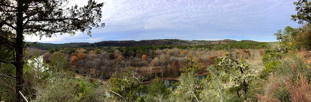 Panorama above Mountain Fork