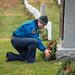 Doug Wheelock Participates in Wreaths Across America Day (NHQ201912140009)