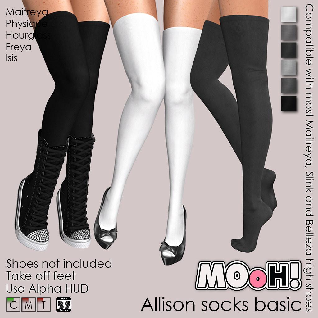 Allison socks basic