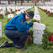 Doug Wheelock Participates in Wreaths Across America Day (NHQ201912140016)