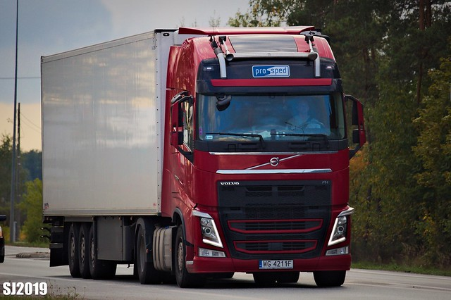 Volvo FH IV Globetrotter XL (Pro-Sped, PL)