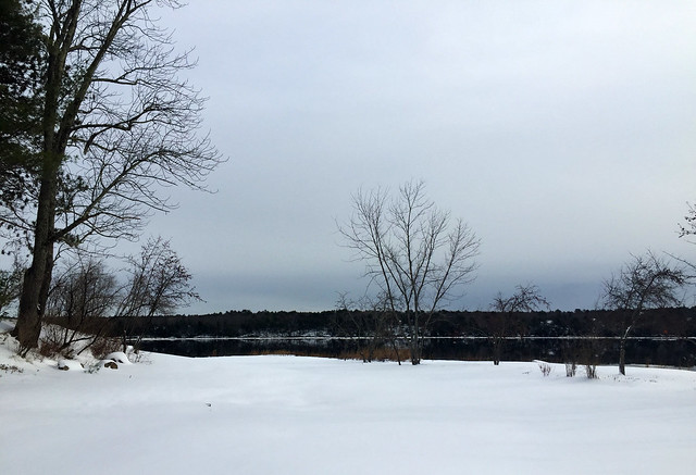 Kennebec River~Winter Series no. 2