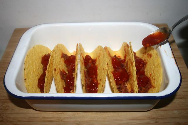 47 - Salsa hinzufügen / Add salsa