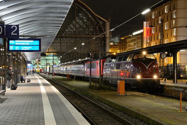 EfW 221 122 Frankfurt (Main) Hauptbahnhof