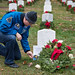 Doug Wheelock Participates in Wreaths Across America Day (NHQ201912140005)