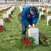 Doug Wheelock Participates in Wreaths Across America Day (NHQ201912140015)