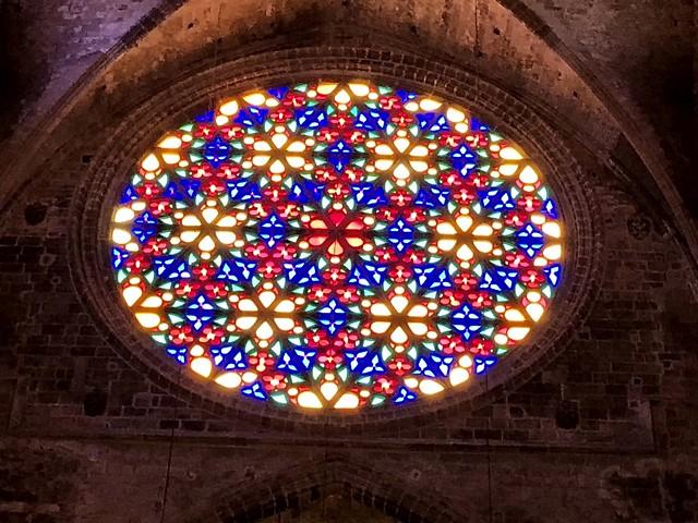 Rosetón - Vitrall - Catedral de Palma