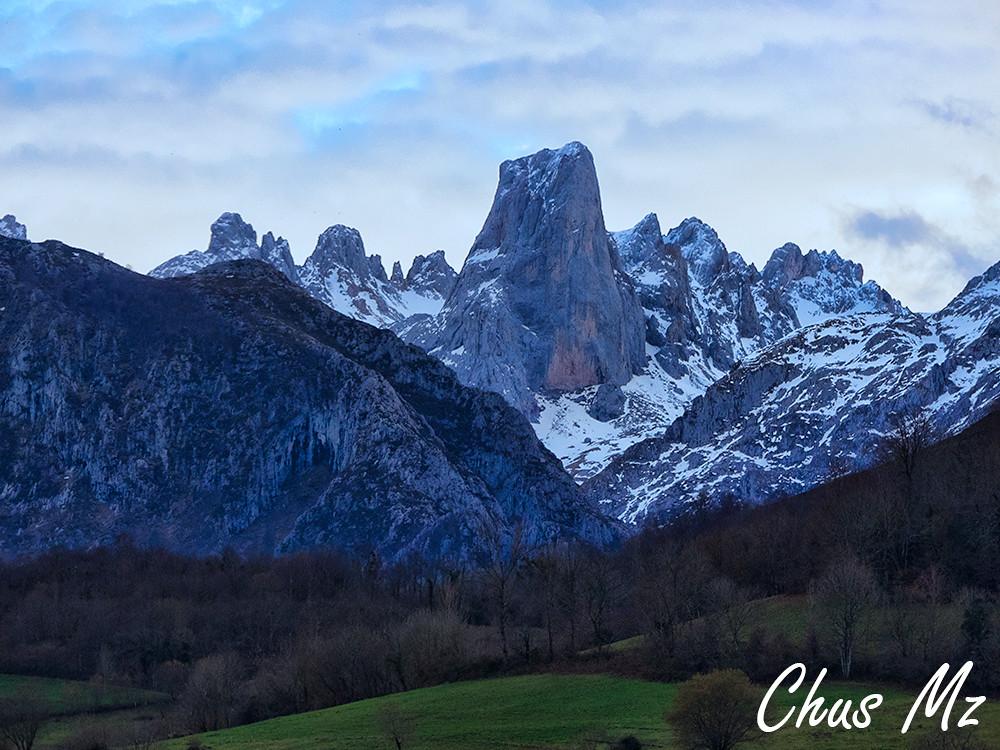Pico Urriellu Desde El Mirador Del Pozo De La Oración Flickr