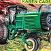 #tractor #fetish #karencarson #painting