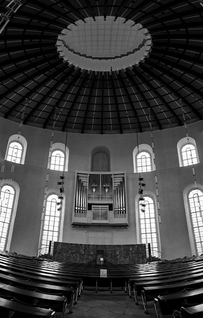 Im Inneren der Frankfurter Paulskirche