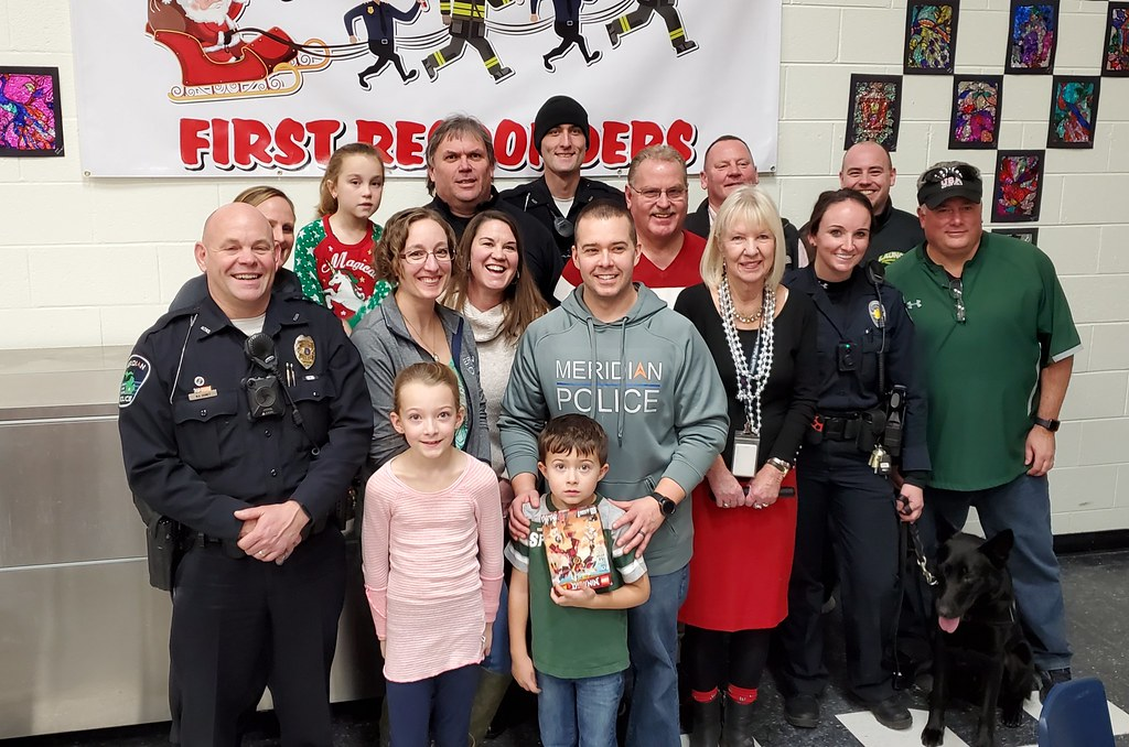 Santa's First Responders Fundraiser for Annual Holiday Party for Kids