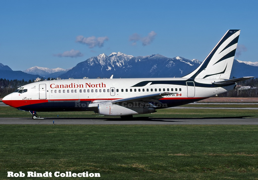 Canadian North B737-275C/Advanced C-GOPW