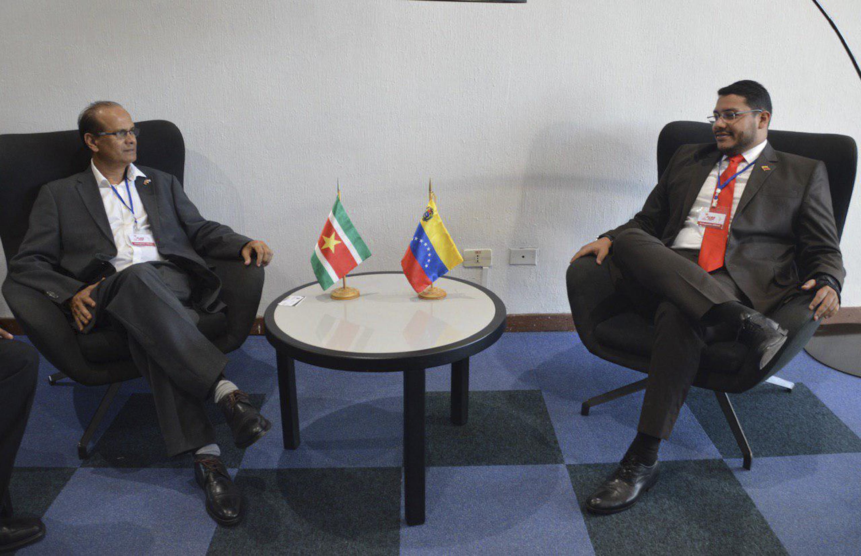 Desde la XVII Cumbre ALBA-TCP Venezuela y Surinam evalúan proyectos de cooperación agrícola
