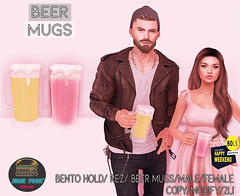 Junk Food - Beer Mugs HW Ad