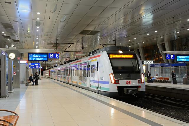 S-Bahn Rhein-Main 430 660 Frankfurt-Flughafen Fernbahnhof
