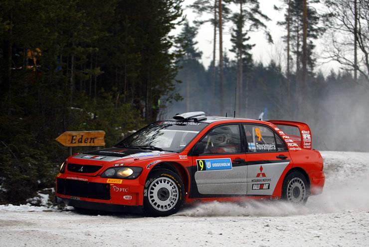 Mitsubishi Lancer WRC – Suecia 2005