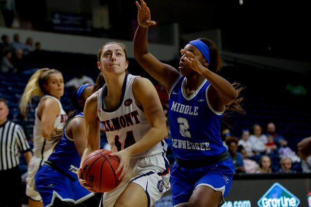 Women's Basketball vs MTSU