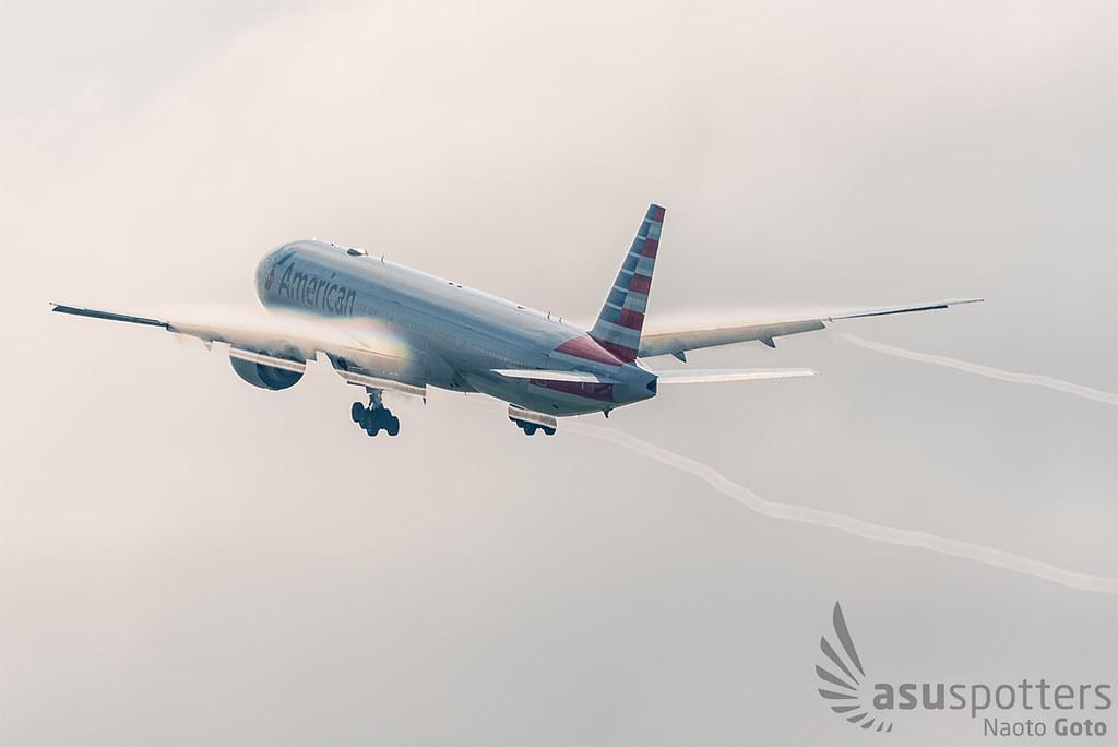 B777-300ER de American Airlines