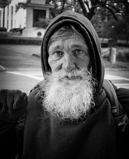 Street portrait - Savannah Georgia