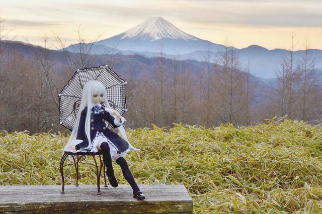 Mt. Fuji from Kamihikawa Mountain path