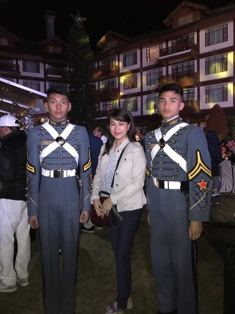 OMB with PMA cadets