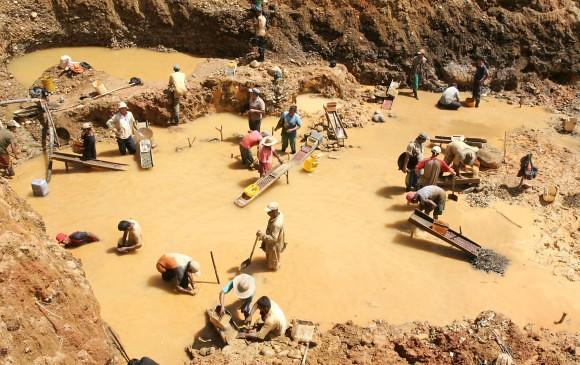 Minería artesanal en Segovia