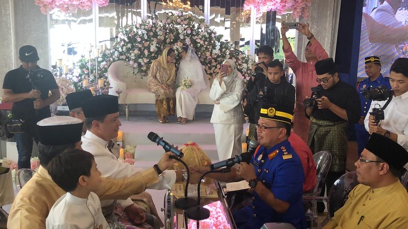 Dato' Sri Eizlan Yusof & Natasha Rosa Boudville Selamat Bernikah