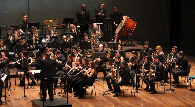 20 ANIVERSARIO DE LA BANDA DE MÚSICA JUVENTUDES MUSICALES-UNIVERSIDAD DE LEÓN - AUDITORIO CIUDAD DE LEÓN 14.12.19