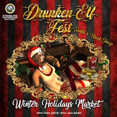 Drunken Elf Fest - Santa's Black Sheep