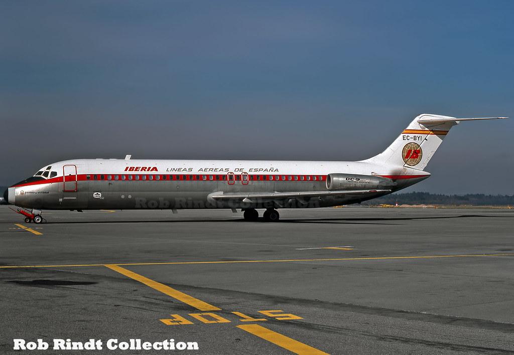 Iberia DC-9-32 EC-BYI