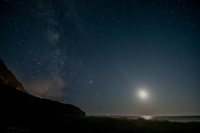 Milky Way over Cape Perpetua