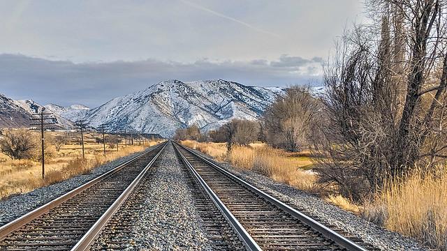 Railroad to the south. South Pocatello, Idaho