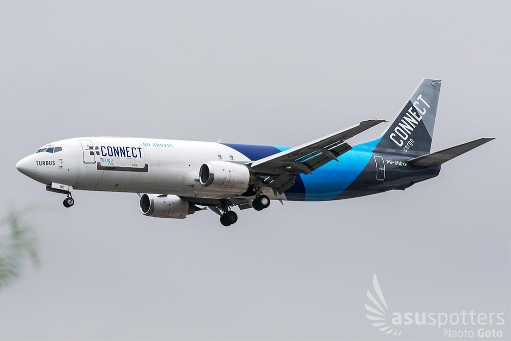 B737-4Q3SF de Connect Linhas Aéreas