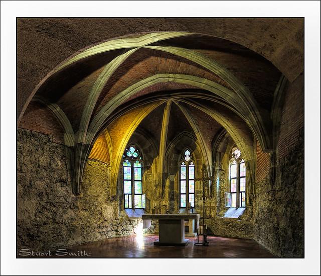 Medieval Chapel, Budapesti Történeti Múzeum, Budai vár (Buda Castle), Budapest, Hungary