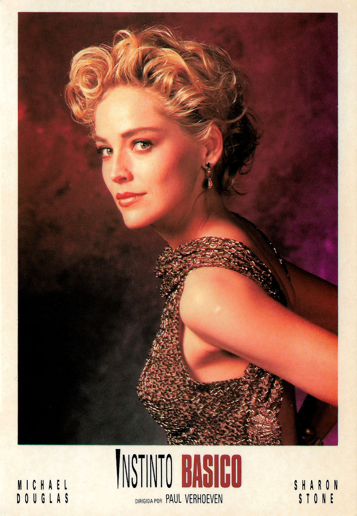 Sharon Stone In Basic Instinct 1992 A Photo On Flickriver