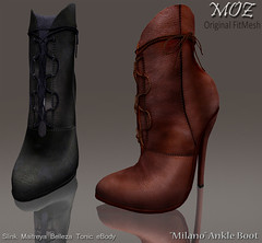 "MOZ ""Milano"" Ankle Boot"