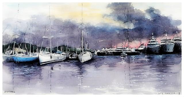 Antibes - Provence - Côte d'Azur - France - le port