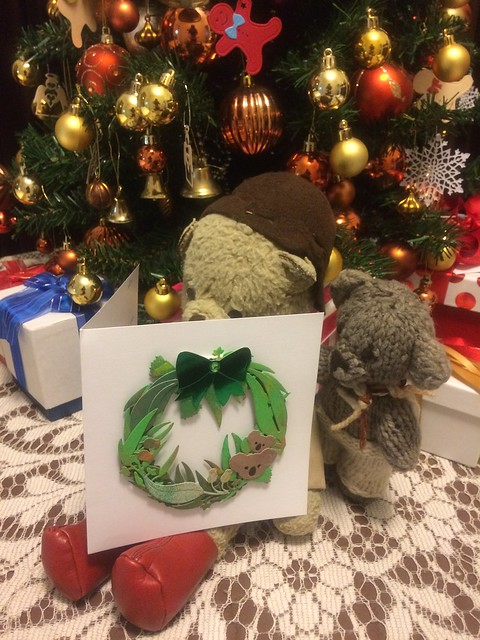 Paddington, Scout and the Christmas Card