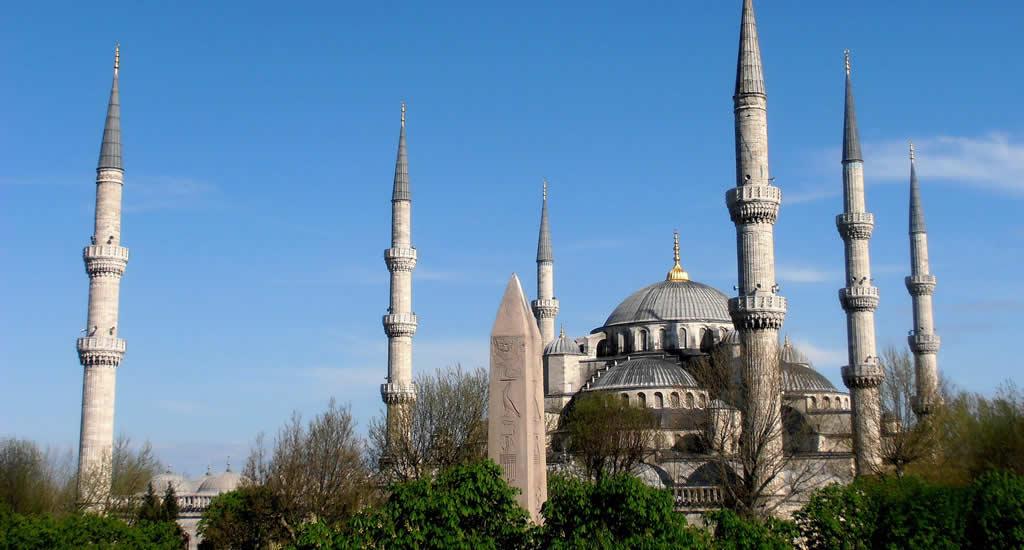 Bezienswaardigheden Istanbul: bezoek de Blauwe Moskee | Mooistestedentrips.nl