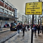 New bus lane enforcement through Preston City Centre